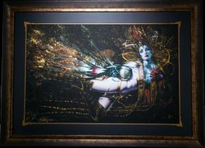 The Queens Embrace Art Print