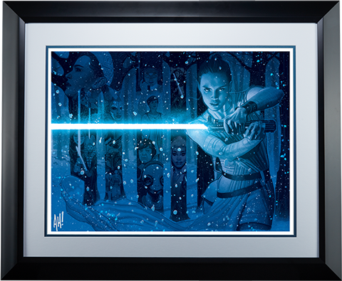 ACME Archives In a Galaxy Far Far Away Art Print