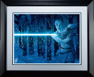In a Galaxy Far Far Away Art Print
