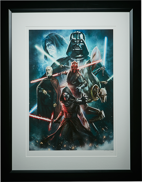 ACME Archives Force of Darkness Art Print