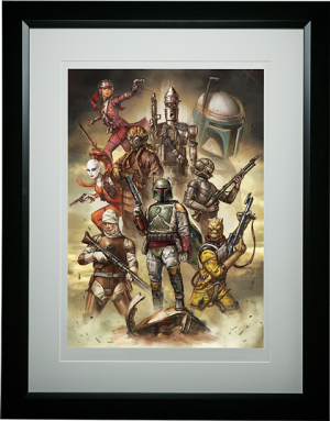 Scum and Villainy Art Print