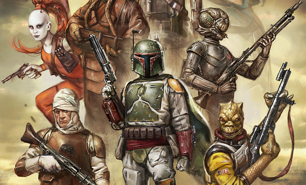 Gallery Feature Image of Scum and Villainy Art Print - Click to open image gallery
