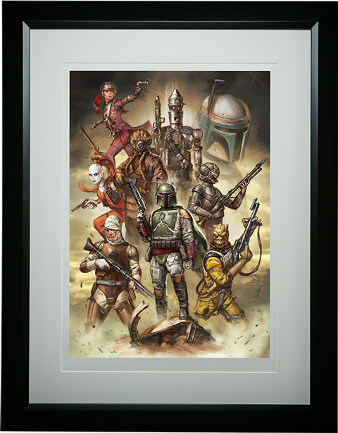 ACME Archives Scum and Villainy Art Print