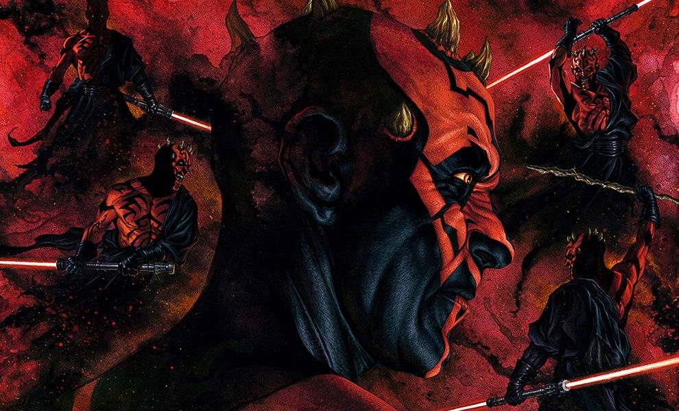 Darth Maul Dark Disciple Art Print feature image