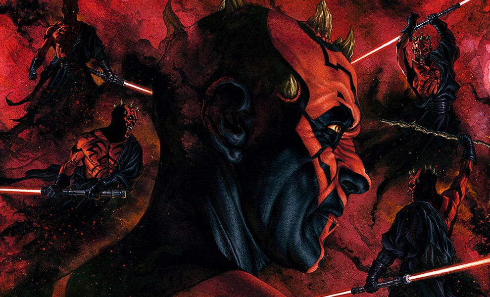 Gallery Feature Image of Darth Maul Dark Disciple Art Print - Click to open image gallery