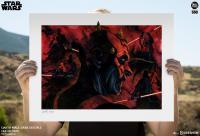 Gallery Image of Darth Maul Dark Disciple Art Print