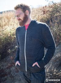 Gallery Image of Sideshow Diamond Eco-Jersey Zip Hoodie Apparel