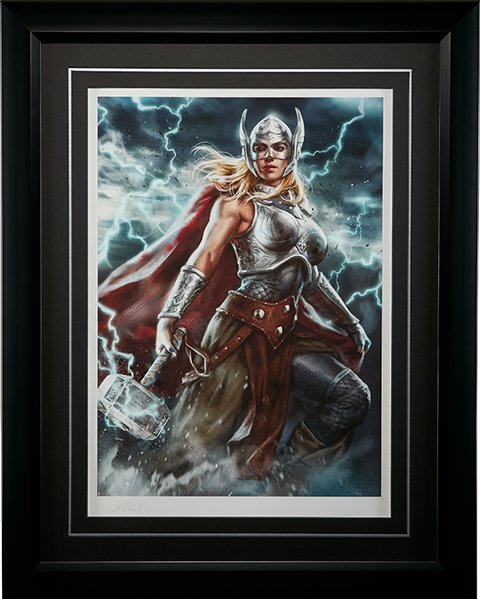 Sideshow Collectibles Thor Jane Foster Art Print