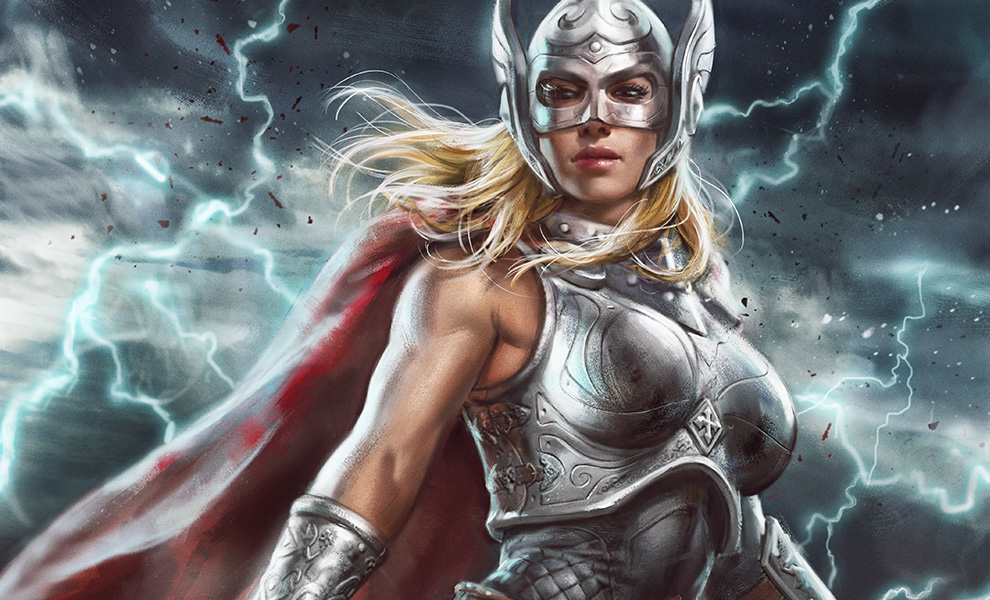 Gallery Feature Image of Thor Jane Foster Art Print - Click to open image gallery