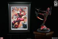 Gallery Image of Lady Deadpool Art Print