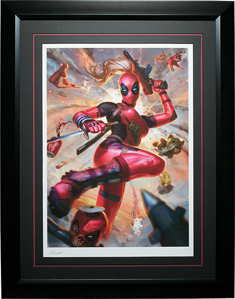 Sideshow Collectibles Lady Deadpool Art Print