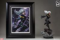 Gallery Image of Black Cat Art Print