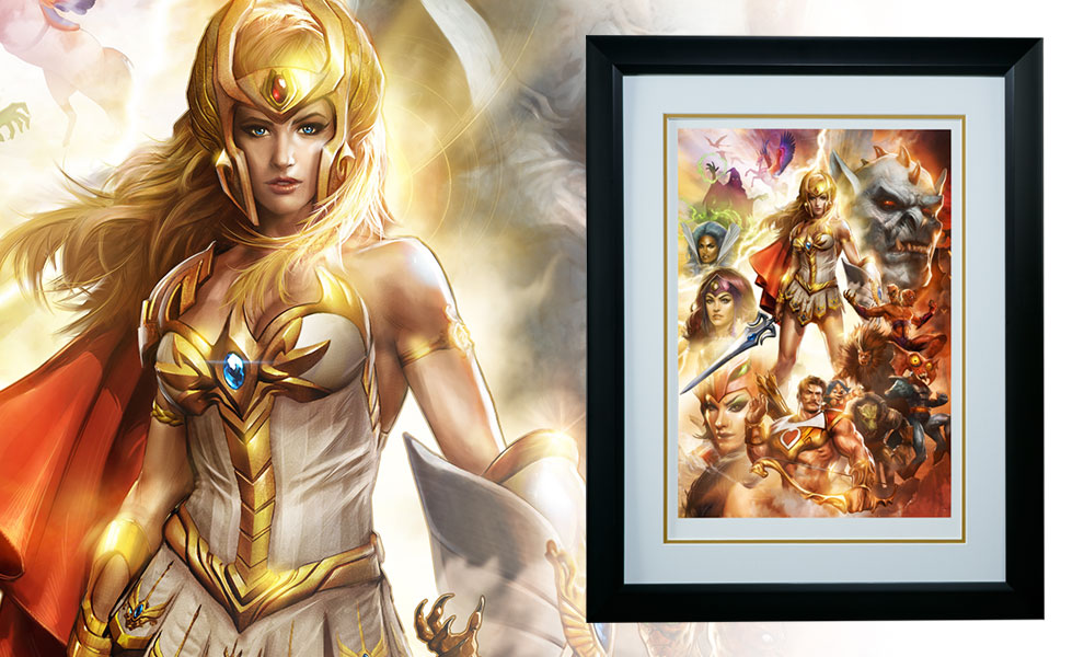 Gallery Feature Image of She-Ra Princess of Power Art Print - Click to open image gallery