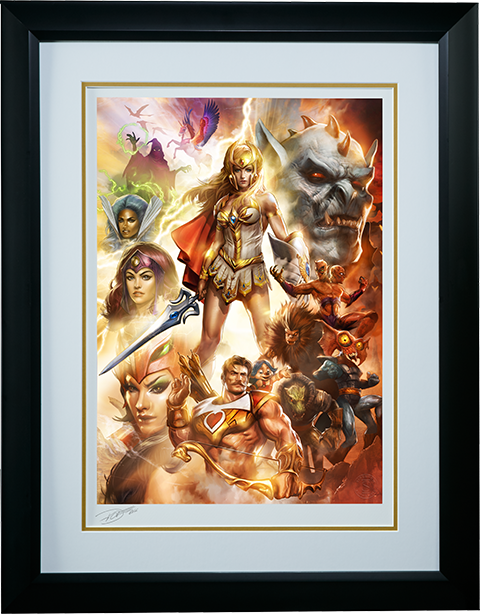 Sideshow Collectibles She-Ra Princess of Power Art Print