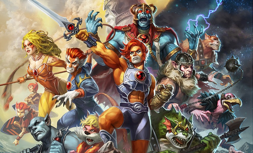 Gallery Feature Image of ThunderCats Art Print - Click to open image gallery
