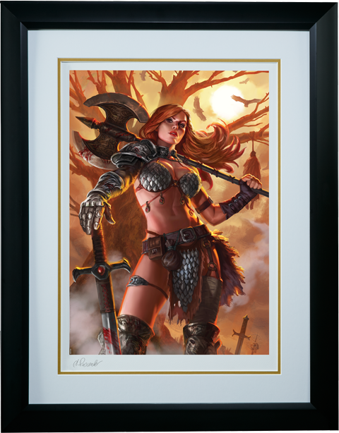 Sideshow Collectibles Red Sonja Art Print