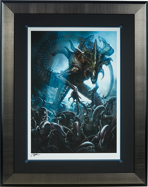 Sideshow Collectibles Alien King Art Print