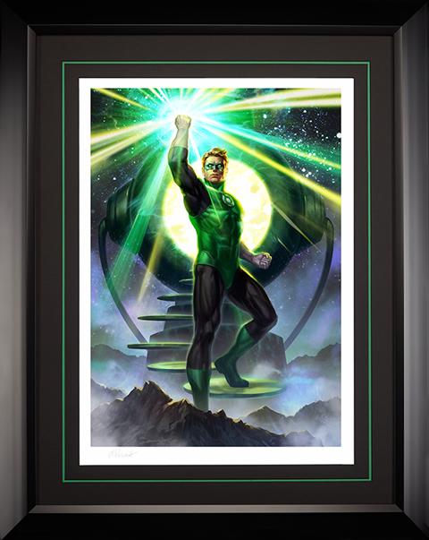Sideshow Collectibles Green Lantern Art Print