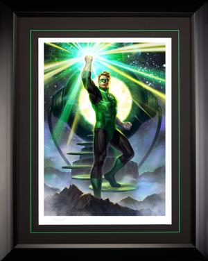 Green Lantern Art Print