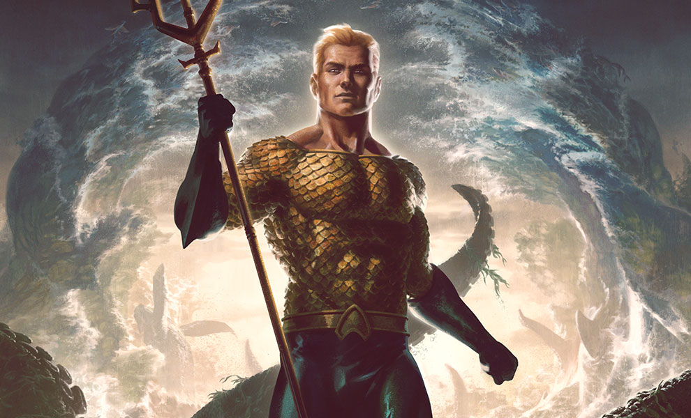Gallery Feature Image of Aquaman Art Print - Click to open image gallery