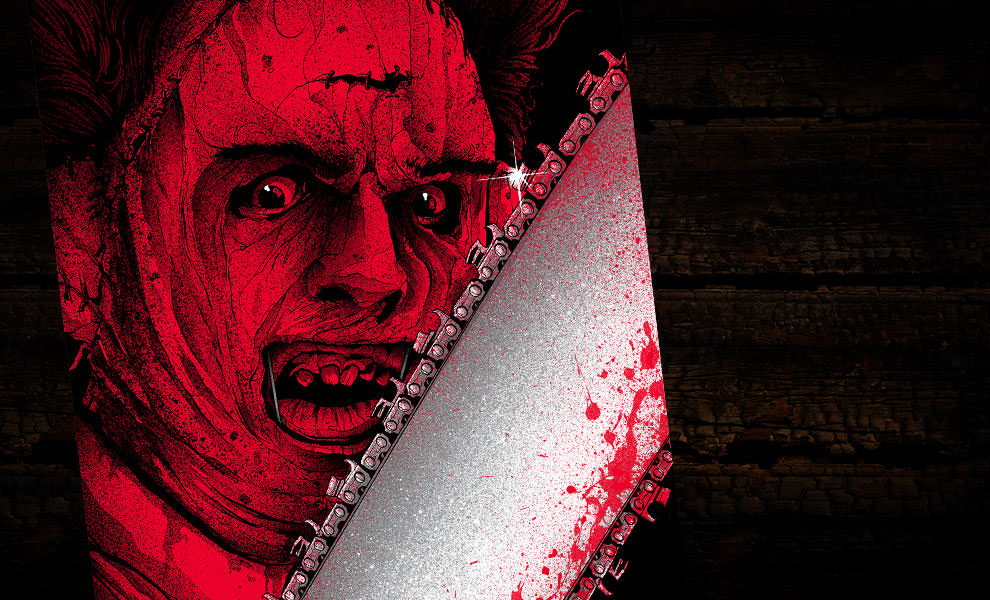Gallery Feature Image of Leatherface Art Print - Click to open image gallery