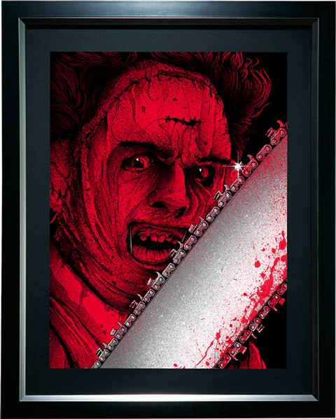 Sideshow Collectibles Leatherface Art Print
