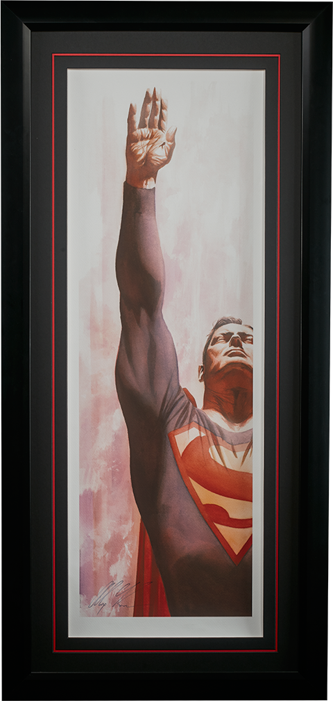 Alex Ross Art Superman Immortal Art Print