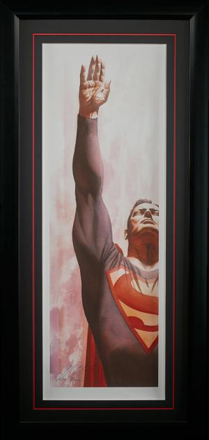 Superman Immortal Art Print