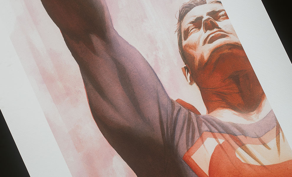 Gallery Feature Image of Superman Immortal Art Print - Click to open image gallery