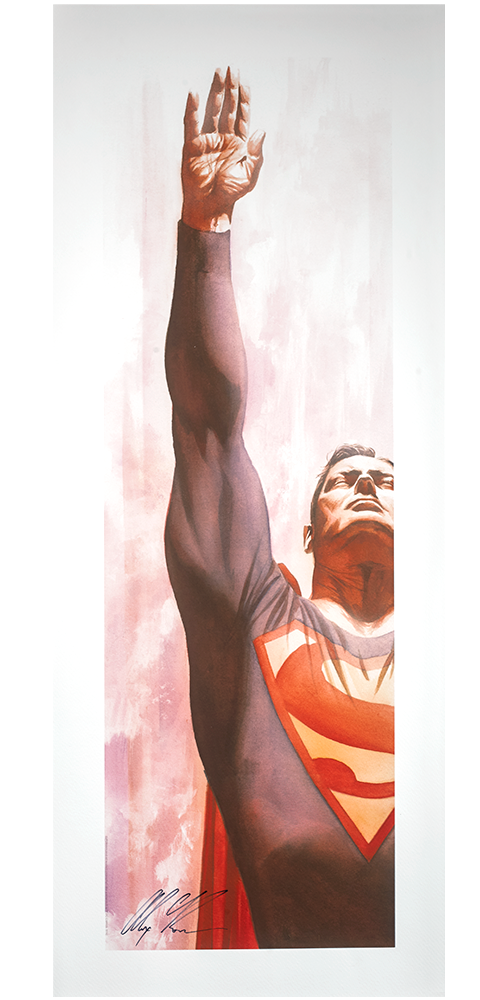 Alex Ross Art Superman Immortal Art Print