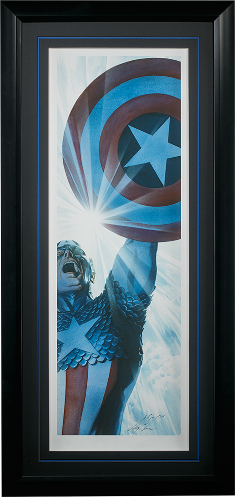 Alex Ross Art Captain America Triumphant Art Print