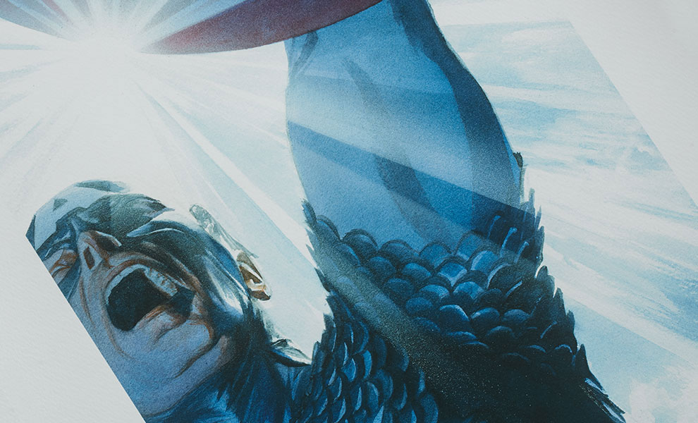 Gallery Feature Image of Captain America Triumphant Art Print - Click to open image gallery