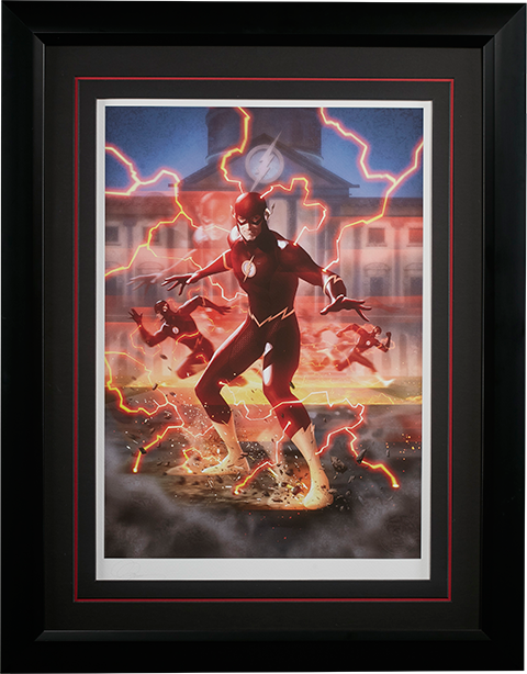 Sideshow Collectibles The Flash Art Print