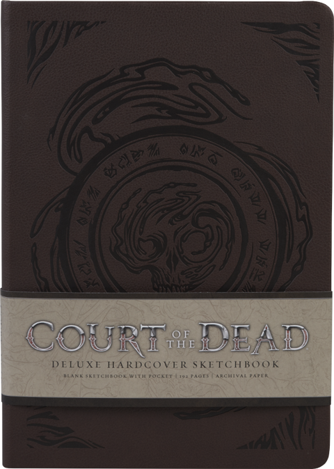 Sideshow Collectibles Court of the Dead Deluxe Hardcover Sketchbook Book