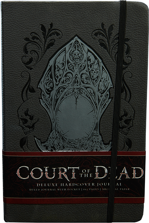 Sideshow Collectibles Court of the Dead Deluxe Hardcover Journal Book