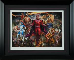 Magneto and the Brotherhood of Mutants Art Print