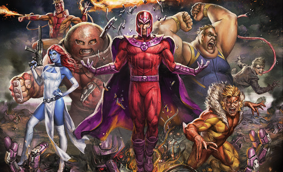 Gallery Feature Image of Magneto and the Brotherhood of Mutants Art Print - Click to open image gallery