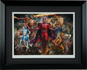 Magneto and the Brotherhood of Mutants Art Print