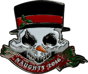 Court of the Dead 2016 Holiday  Collectible Pin