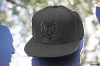 Gallery Image of Sideshow Black Snapback Cap Apparel