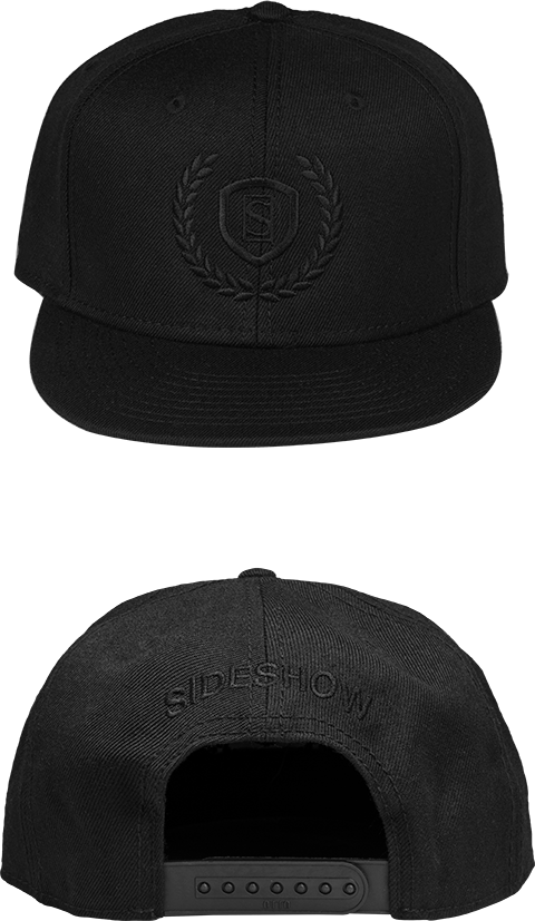 Sideshow Collectibles Sideshow Black Snapback Cap Apparel