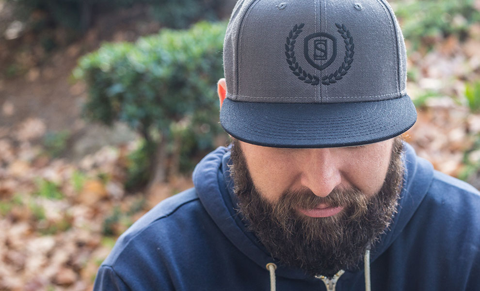Gallery Feature Image of Sideshow Gray Snapback Cap Apparel - Click to open image gallery