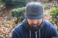Gallery Image of Sideshow Gray Snapback Cap Apparel