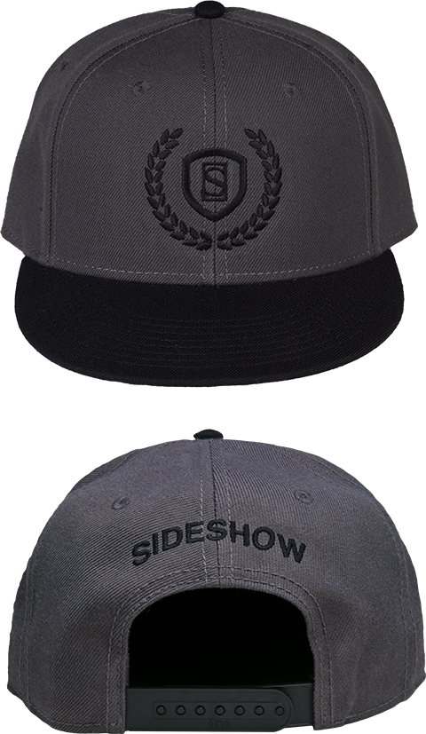 Sideshow Collectibles Sideshow Gray Snapback Cap Apparel