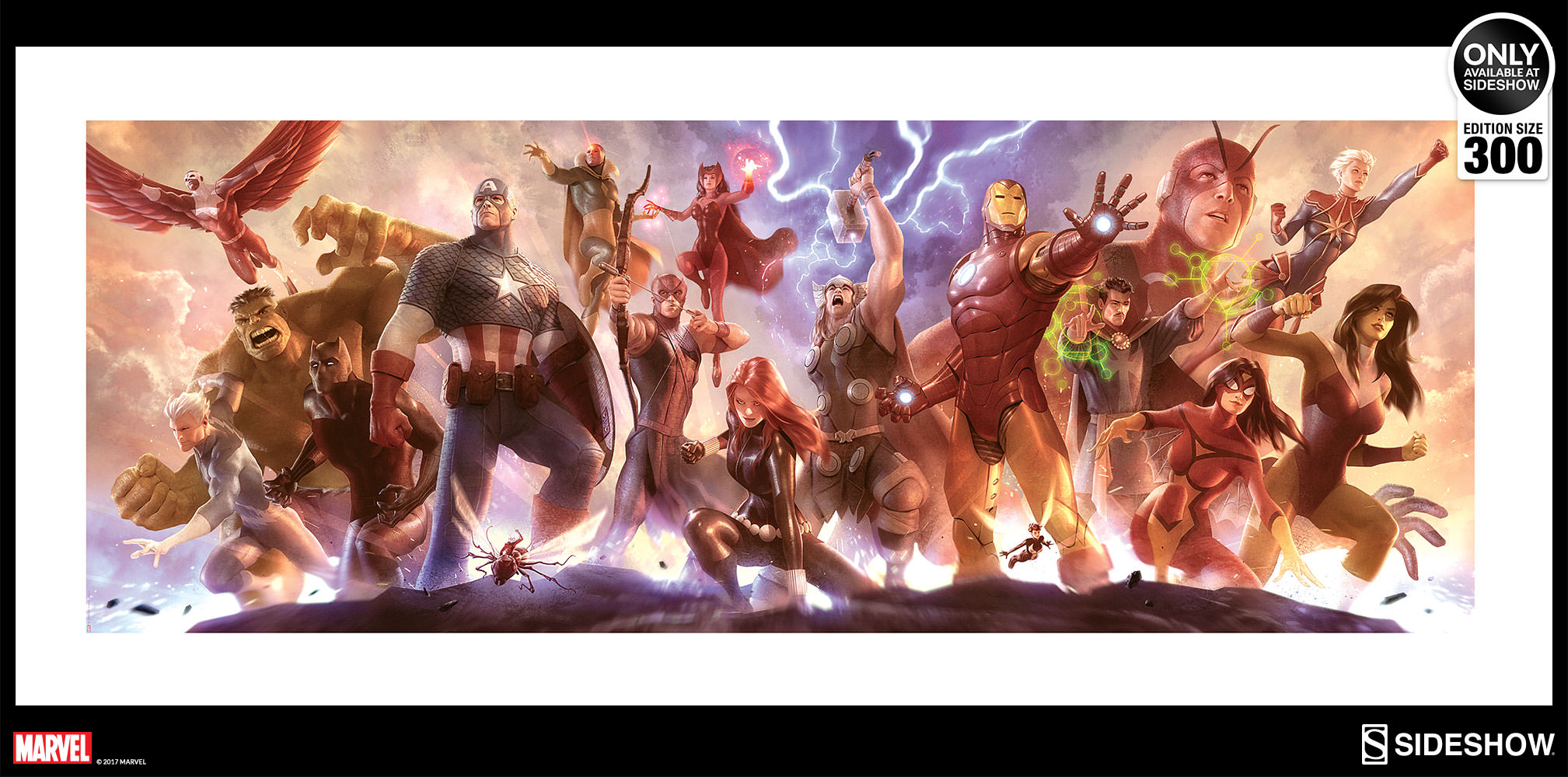 Marvel Avengers Assemble Art Print By Sideshow Collectibles