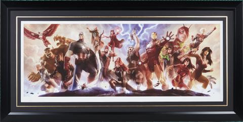 Sideshow Collectibles Avengers Assemble Art Print
