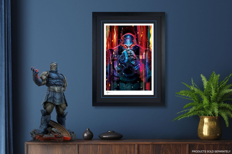 Darkseid Art Print feature image