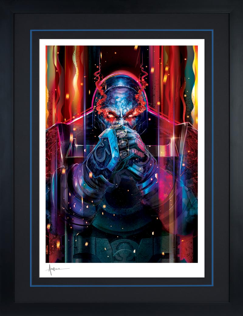 Darkseid Art Print -