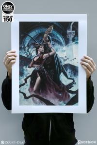 Gallery Image of Love You to Death Art Print