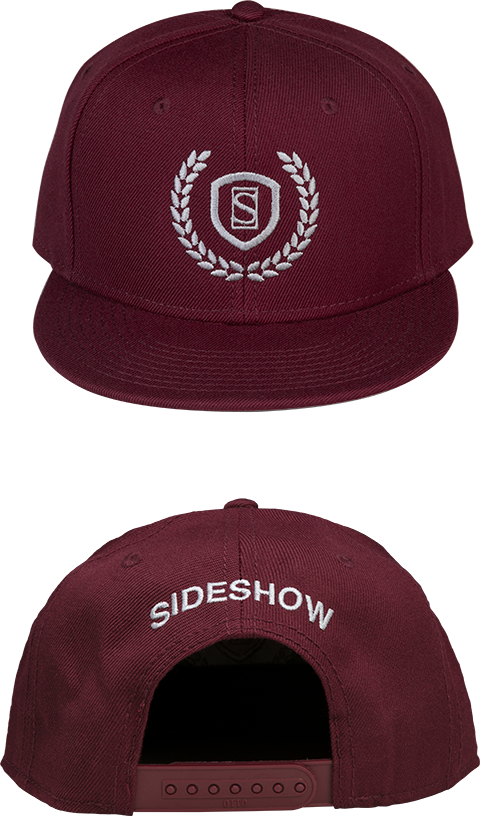 Sideshow Collectibles Sideshow Burgundy Snapback Cap Apparel
